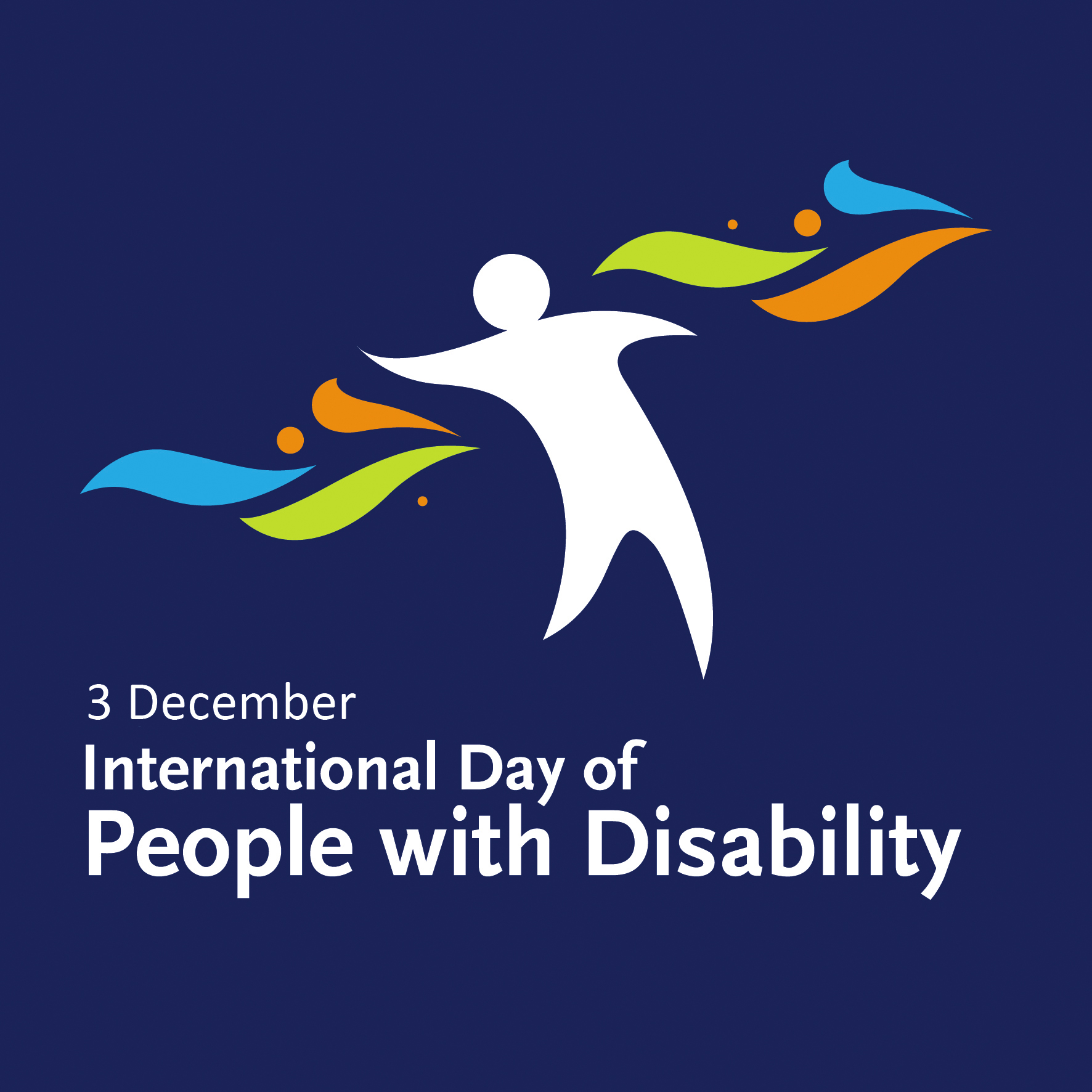 International Day of People with Disability supported by APM logo