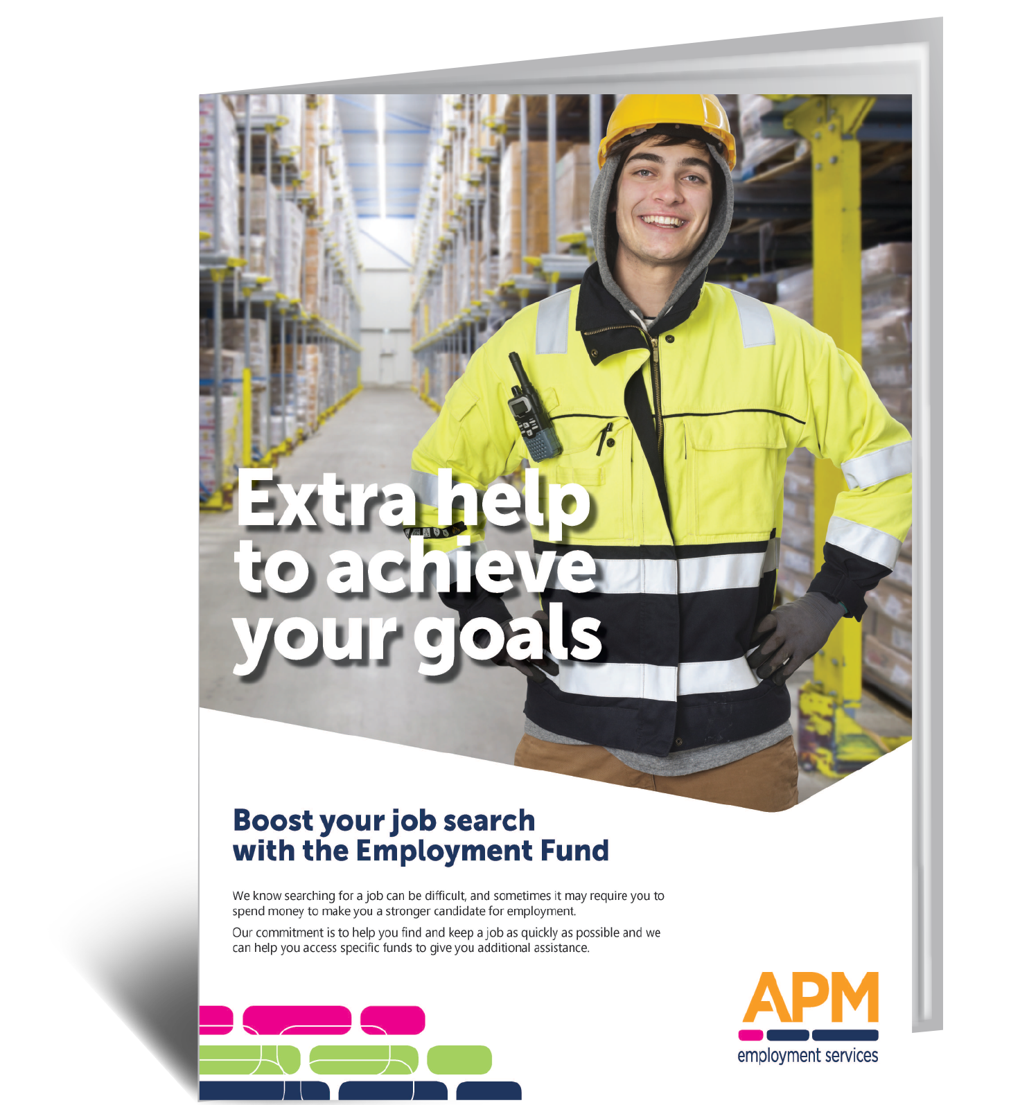 Need extra help? Download your guide to the services we help job seekers access when they join APM image