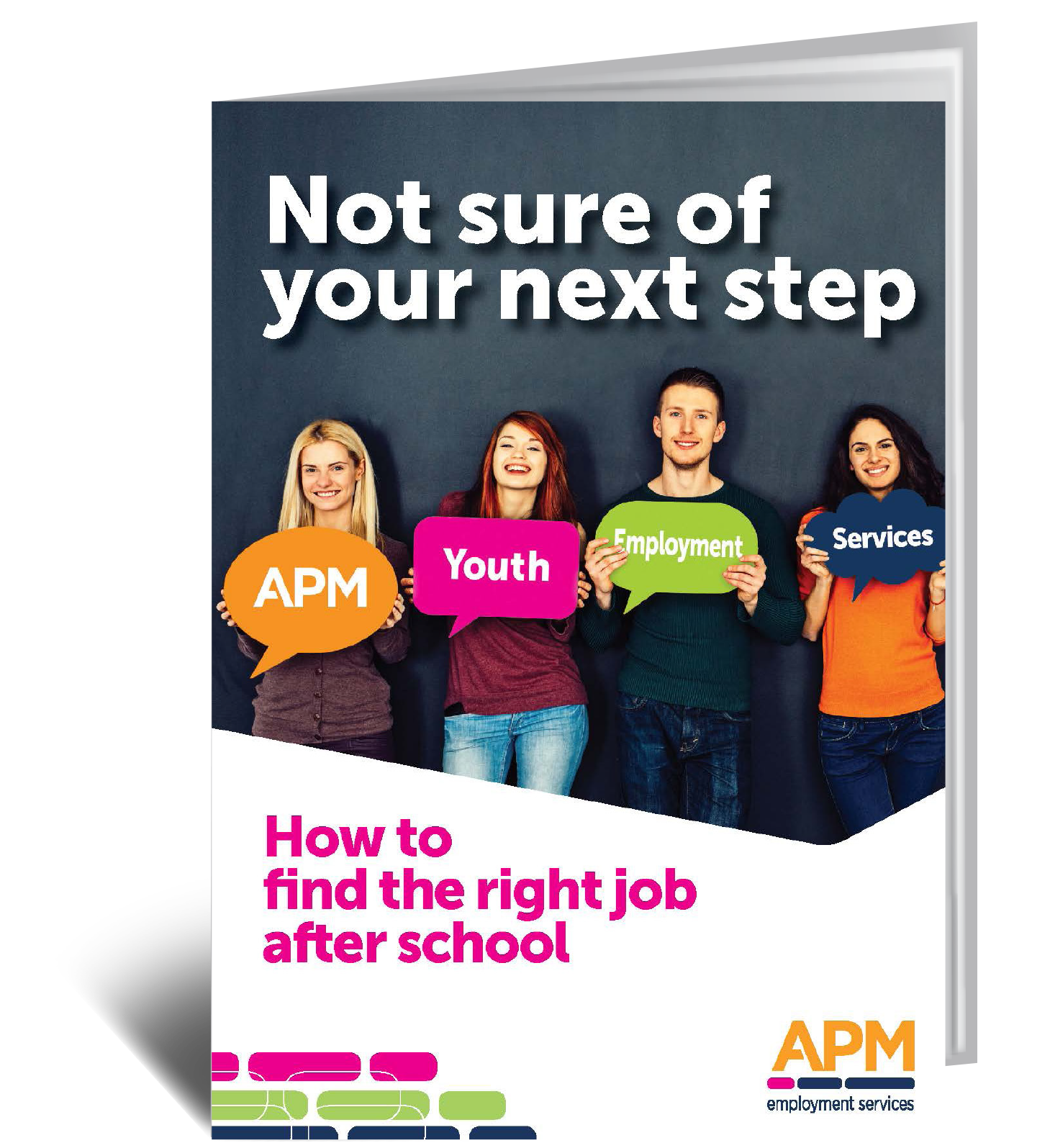Download your guide to APM YES now and find out more on getting your first job when you leave school image