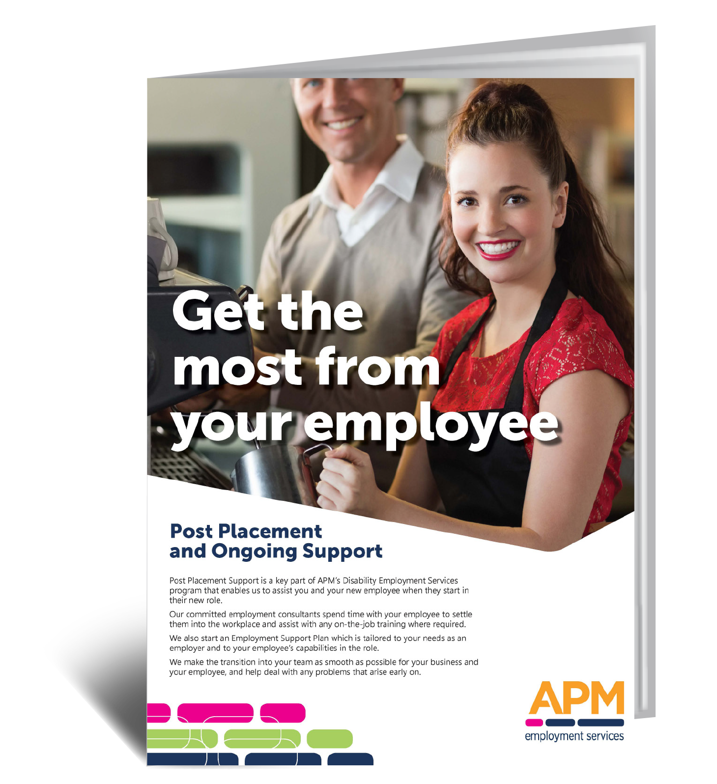 Download your guide to how we help you and your new employee make the best start together image