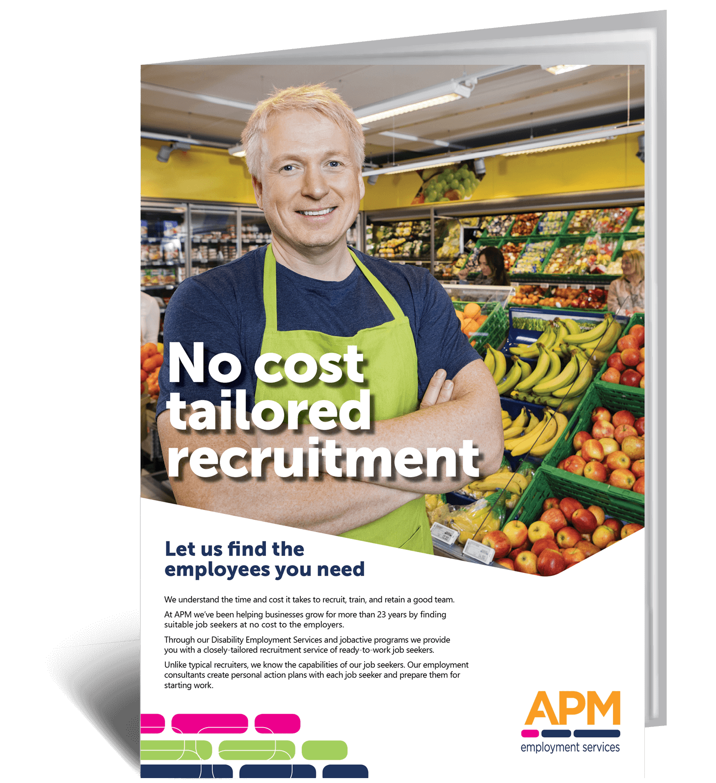 Need staff fast? See how you save time and money with our no cost recruitment service image